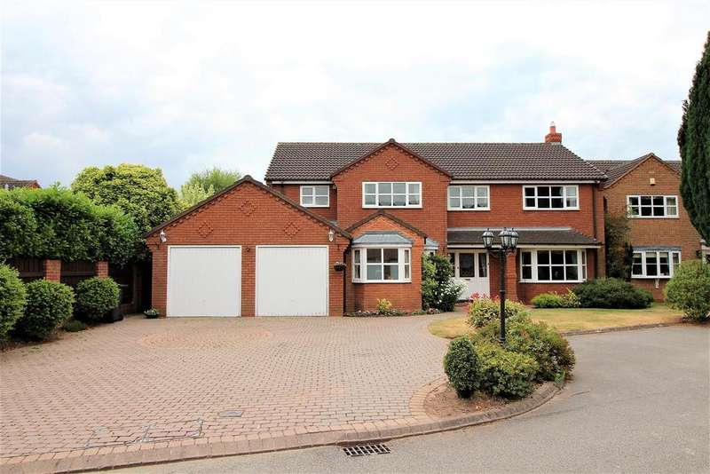 5 Bedrooms Detached House for sale in Highfield Gardens, Lichfield