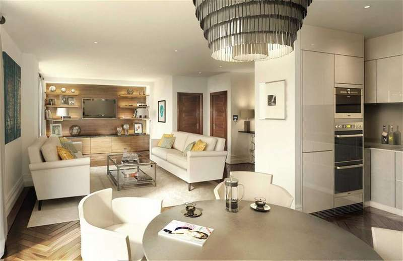 2 Bedrooms Penthouse Flat for sale in Bridge Place, London