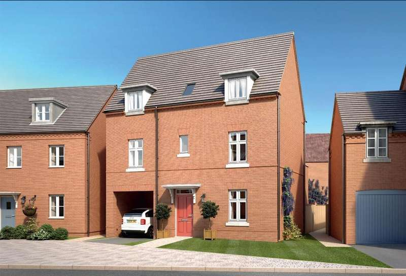 4 Bedrooms Detached House for sale in The Village, Barlaston, Stoke-On-Trent
