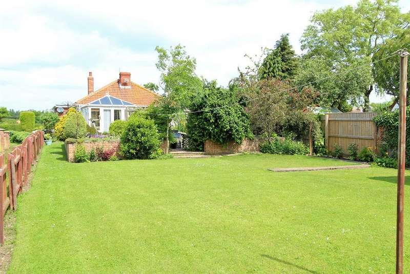 3 Bedrooms Detached Bungalow for sale in Grange Lane, Manby, Louth, LN11 8HF