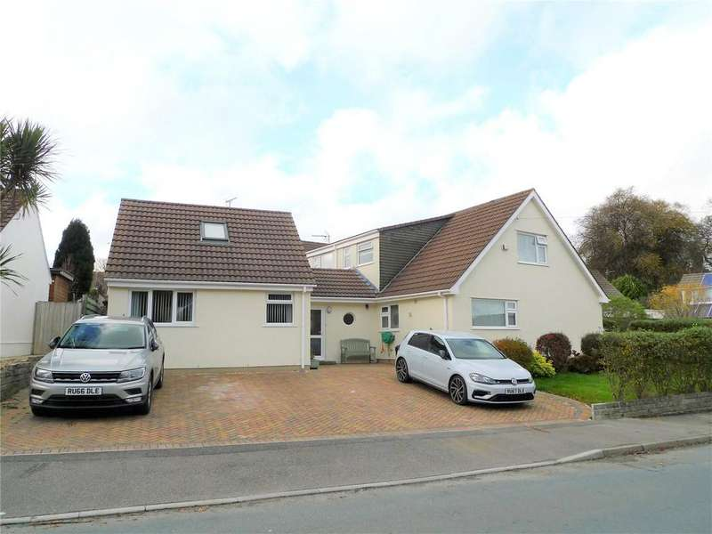 5 Bedrooms Detached Bungalow for sale in Penkernick Way, St. Columb, Cornwall