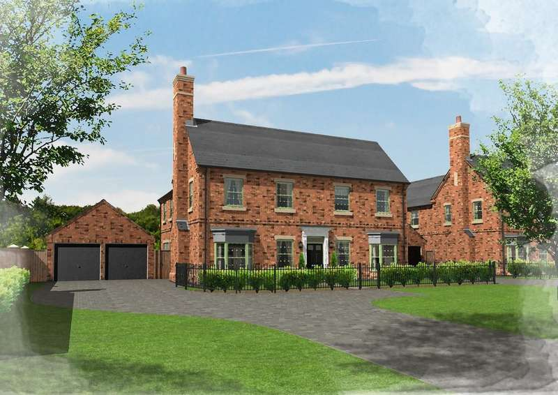 5 Bedrooms Detached House for sale in Plot 50, Brampton Park, Brampton