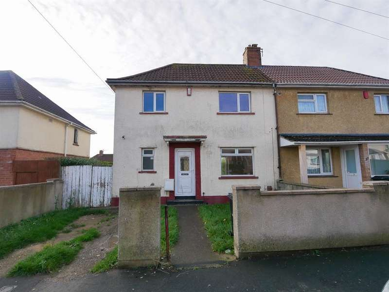 2 Bedrooms Semi Detached House for sale in Hurston Road, Knowle, Bristol, BS4 1SU