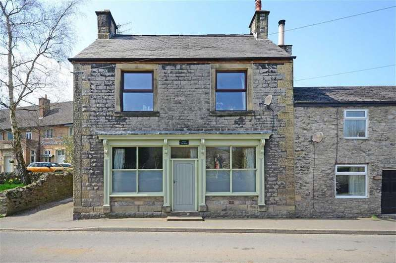 4 Bedrooms Semi Detached House for sale in Round The Back, Church Street, Bradwell, Hope Valley, Derbyshire, S33