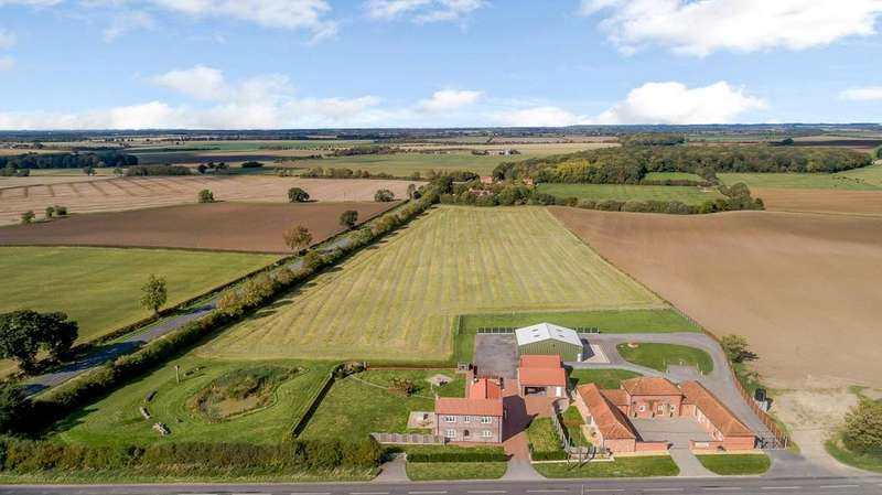 3 Bedrooms Detached House for sale in Rose Cottage Farm, Horncastle Road, Horsington, Woodhall Spa, LN10