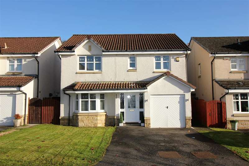 4 Bedrooms Detached House for sale in Robert Kay Place, The Inches, Larbert