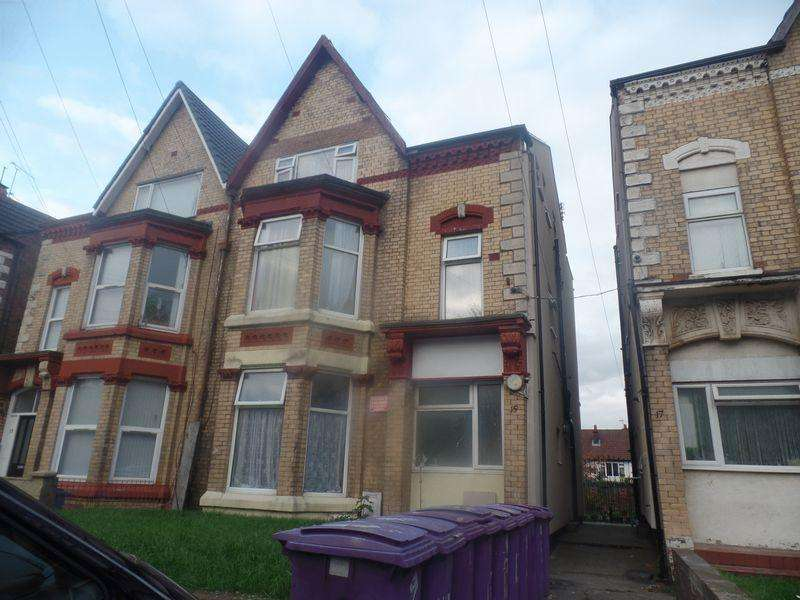 8 Bedrooms Semi Detached House for sale in 15 Lilley Road, Liverpool