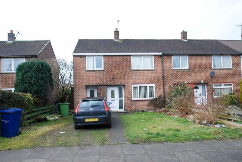 3 Bedrooms Semi Detached House for sale in Belloc Avenue, South Shields