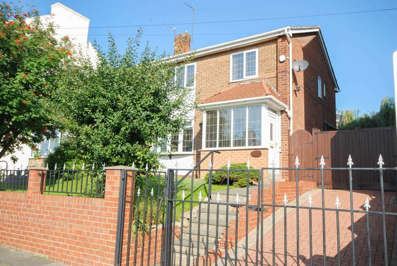 3 Bedrooms Semi Detached House for sale in Viewforth Terrace, Fulwell