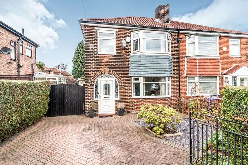 3 Bedrooms Semi Detached House for sale in Kinburn Road, East Didsbury , Manchester, M19