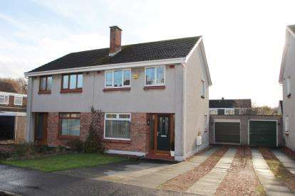 3 Bedrooms Semi Detached House for sale in Braids Road, Kirkcaldy