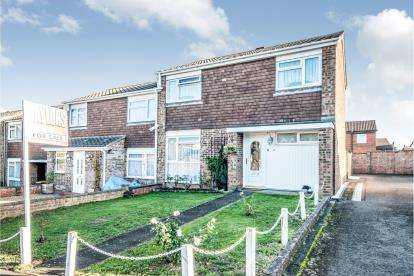 3 Bedrooms End Of Terrace House for sale in Greskine Close, Goldington, Bedford, Bedfordshire