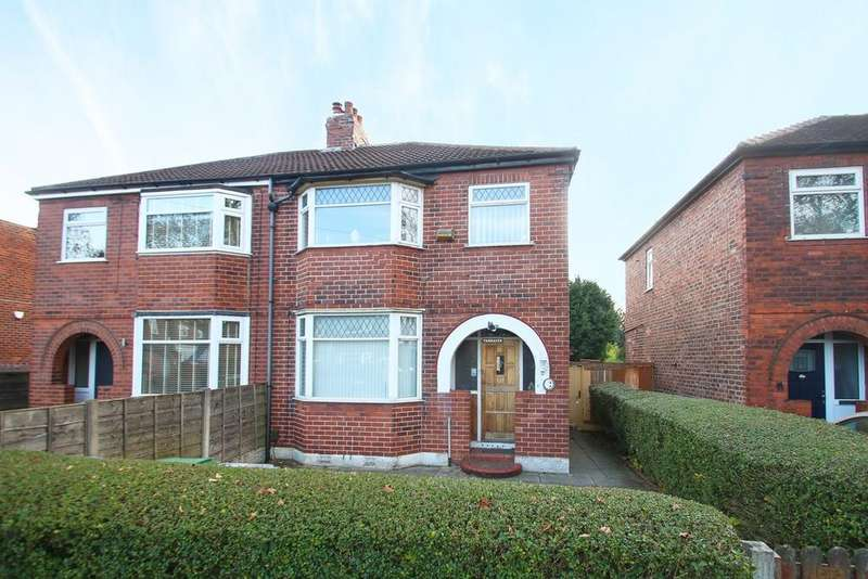 3 Bedrooms Semi Detached House for sale in Ambleside Road, Flixton, Manchester, M41