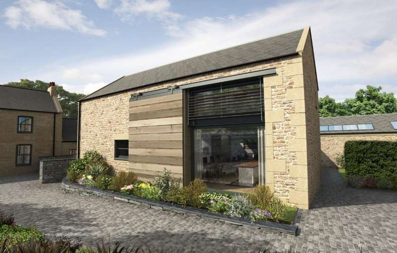 3 Bedrooms Barn Conversion Character Property for sale in West Farm Steading, Earsdon Village, Tyne and Wear NE25