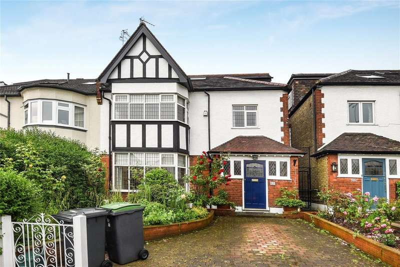 5 Bedrooms Semi Detached House for sale in Cranley Gardens, London, N10