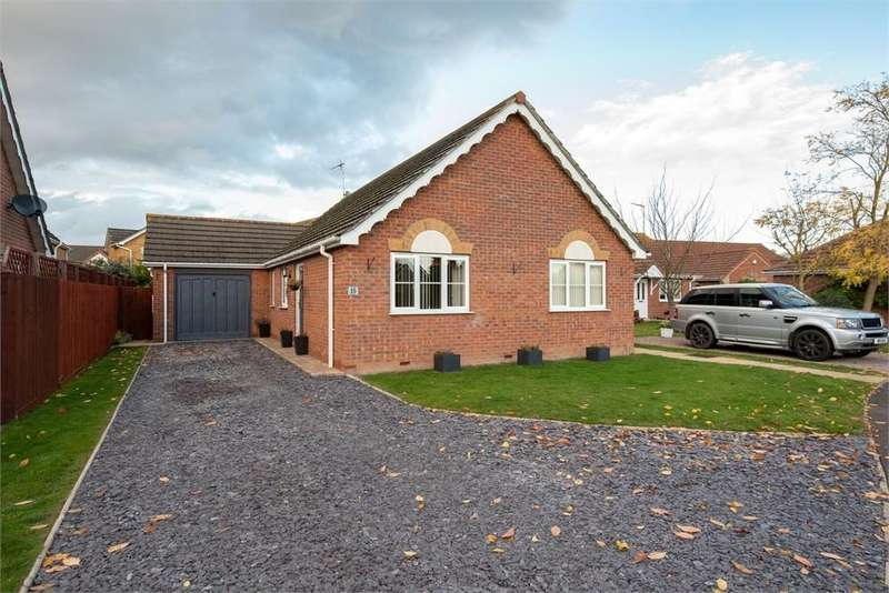 2 Bedrooms Detached Bungalow for sale in The Spires, Sutterton, Boston, Lincolnshire