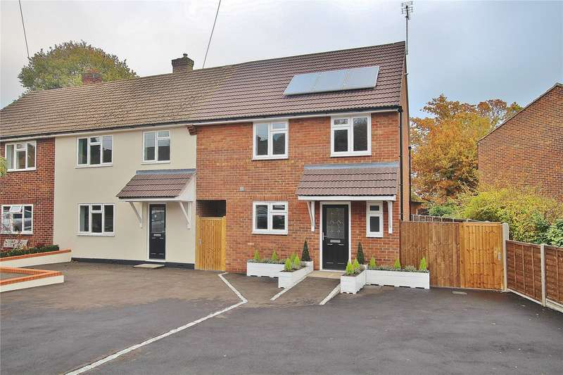 3 Bedrooms End Of Terrace House for sale in Hillside Close, Knaphill, Woking, Surrey, GU21