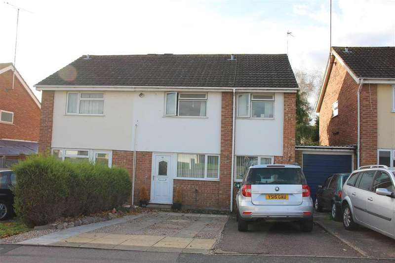 3 Bedrooms Semi Detached House for sale in The Coppice, Narborough, Leicester