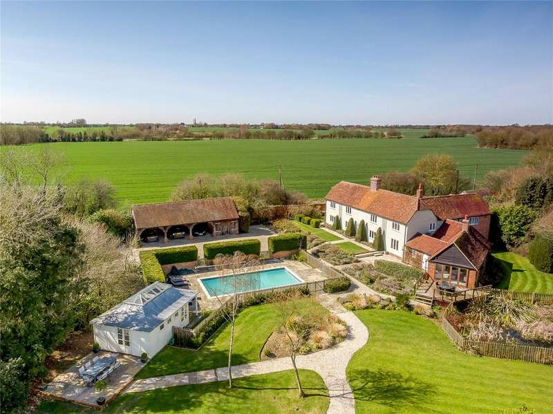 4 Bedrooms Detached House for sale in Blakes Lane, Pleshey, Chelmsford, Essex, CM3