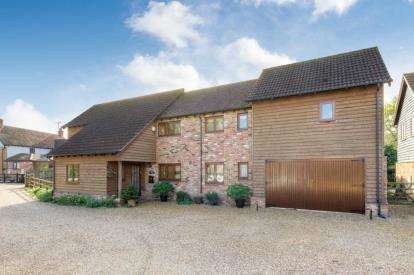 5 Bedrooms Detached House for sale in Hunters Yard, Riseley, Bedford, Bedfordshire