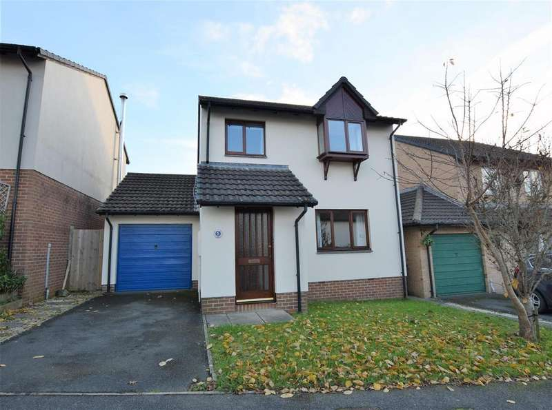 3 Bedrooms Detached House for sale in Larkspur Gardens, Barnstaple