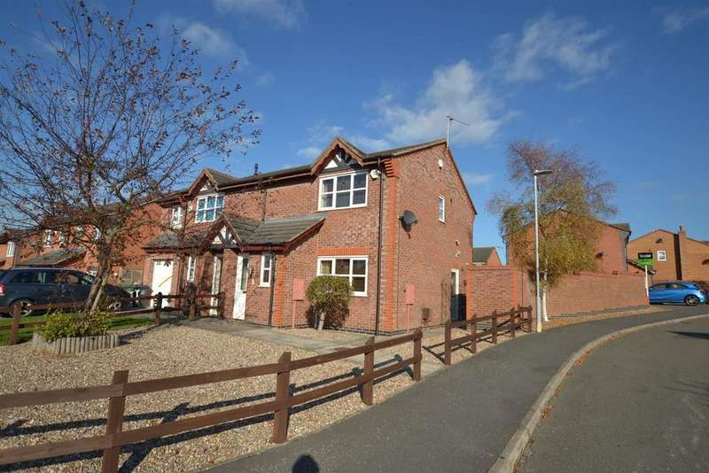 3 Bedrooms Semi Detached House for sale in Gray Lane, Sileby, Leicestershire