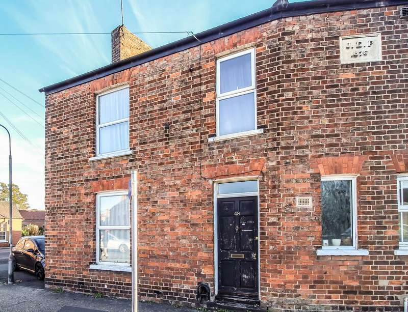 2 Bedrooms End Of Terrace House for sale in Westlode Street, Spalding