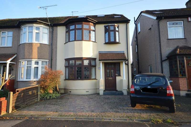 4 Bedrooms End Of Terrace House for sale in Cedar Road, Romford, RM7
