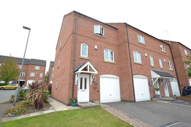 4 Bedrooms Town House for sale in Whitehead Close, Sileby, Leicestershire