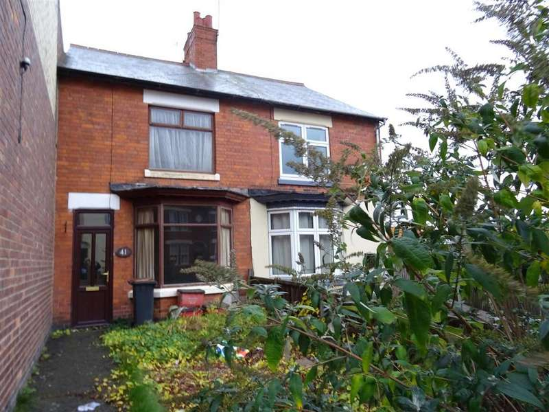 3 Bedrooms Terraced House for sale in Central Road, Hugglescote, Leicestershire