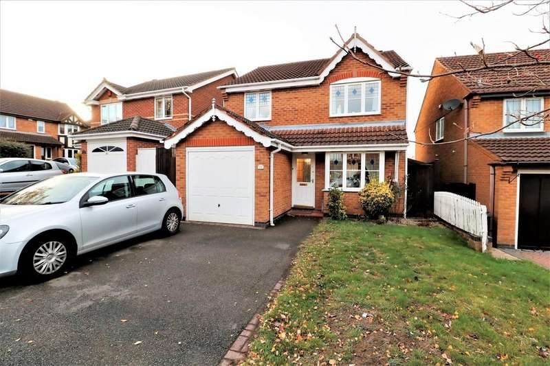 3 Bedrooms Detached House for sale in Highgate, Ashby-de-la-Zouch