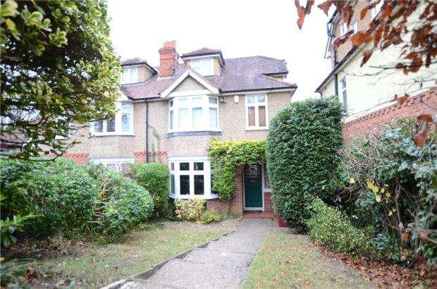 4 Bedrooms Semi Detached House for sale in Hemdean Rise, Caversham, Reading