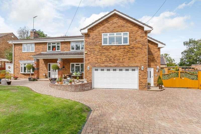 5 Bedrooms Detached House for sale in Bakers Lane, Stoke Bruerne, Towcester