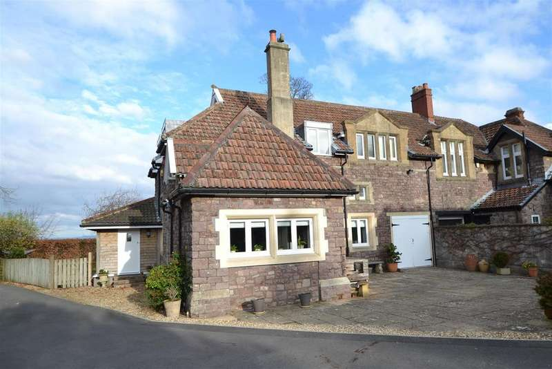 3 Bedrooms Coach House Flat for sale in Ox House Lane, Lower Failand, Bristol