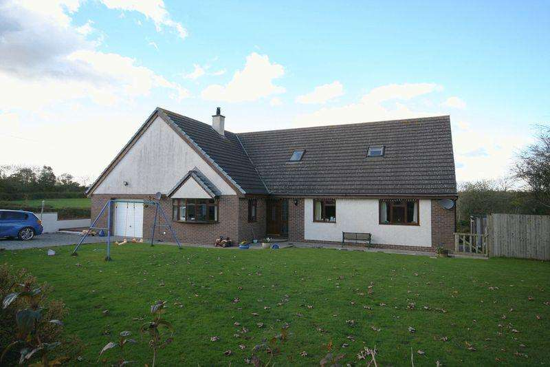 4 Bedrooms Detached Bungalow for sale in Llangefni, Anglesey