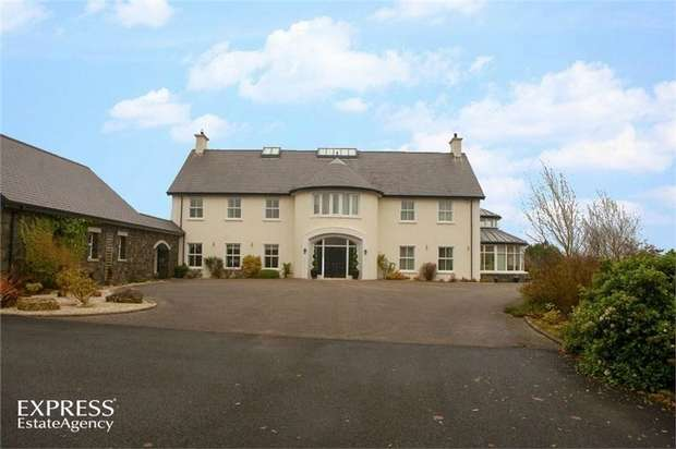 4 Bedrooms Detached House for sale in Ballyveely Road, Cloughmills, Ballymena, County Antrim