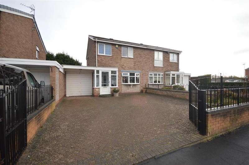 3 Bedrooms Semi Detached House for sale in Grassington Drive, Birmingham