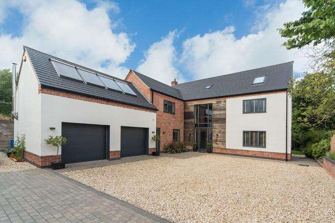 5 Bedrooms Detached House for sale in Northwood, Keane Close, Blidworth, Nottinghamshire NG21 0QY