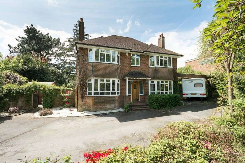 4 Bedrooms Detached House for sale in Providence Hill, Bursledon, Southampton SO31
