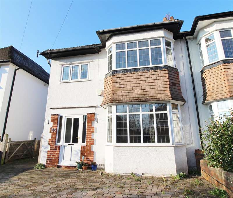 5 Bedrooms Semi Detached House for sale in Brean Down Avenue, Bristol