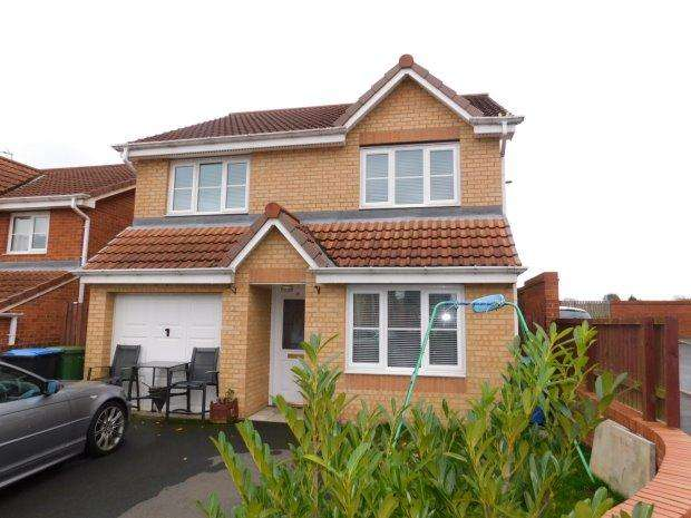 4 Bedrooms Detached House for sale in CINNAMON DRIVE, TRIMDON STATION, SEDGEFIELD DISTRICT