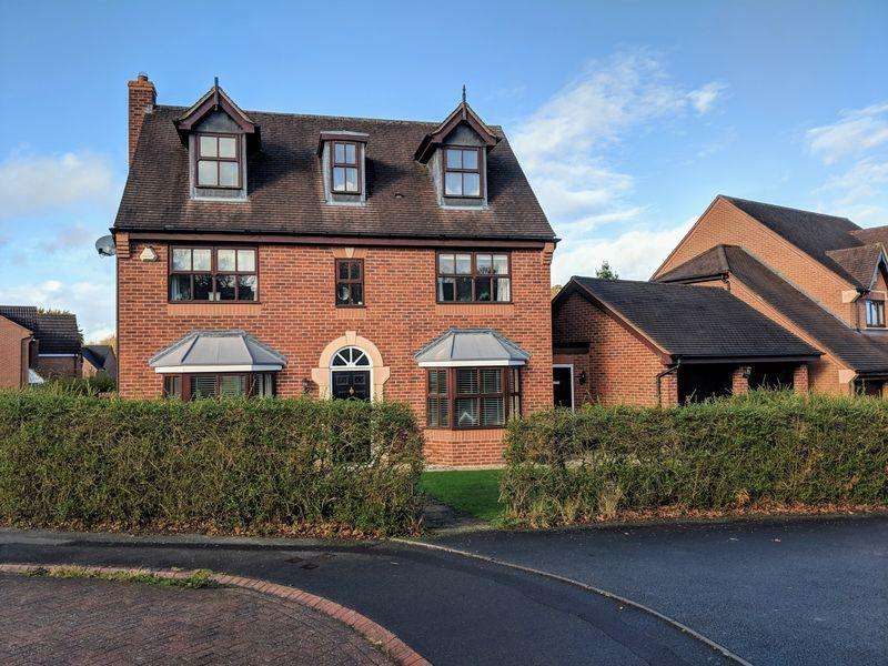 5 Bedrooms Detached House for sale in Stoneleigh Grove, Muxton, Telford