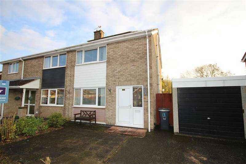 3 Bedrooms Semi Detached House for sale in St Lukes Close, Cherry Willingham, Lincoln, Lincolnshire
