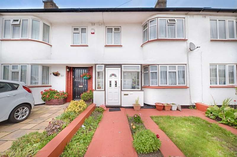 3 Bedrooms Terraced House for sale in Wood Lane, Kingsbury, London