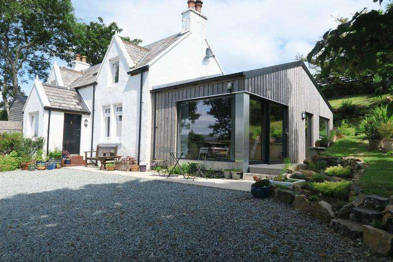 4 Bedrooms Detached House for sale in Camustianavaig, Portree