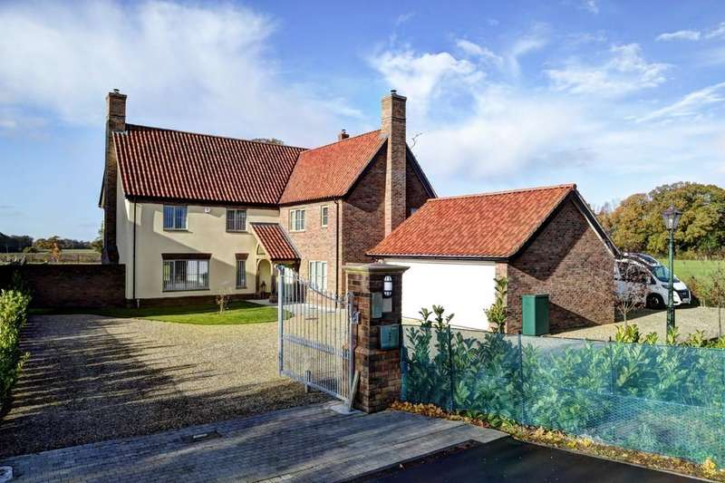 5 Bedrooms Detached House for sale in Brooke, Norwich, Norfolk