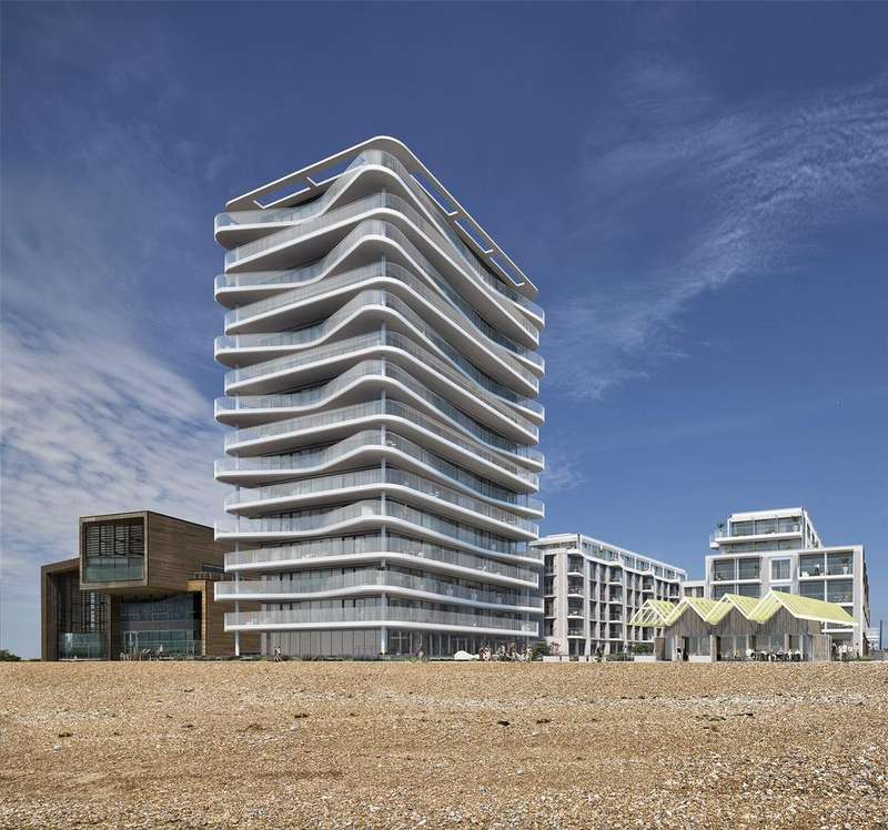 3 Bedrooms Apartment Flat for sale in Bayside Apartments, 62 Brighton Road, Worthing, West Sussex, BN11