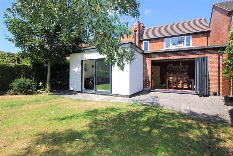 4 Bedrooms Detached House for sale in Range Road, Ashby-De-La-Zouch, LE65 1EB