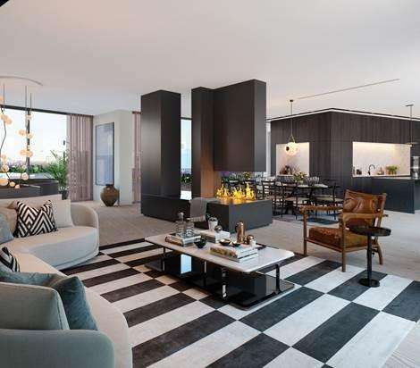 4 Bedrooms Flat for sale in Television Centre, London, W12