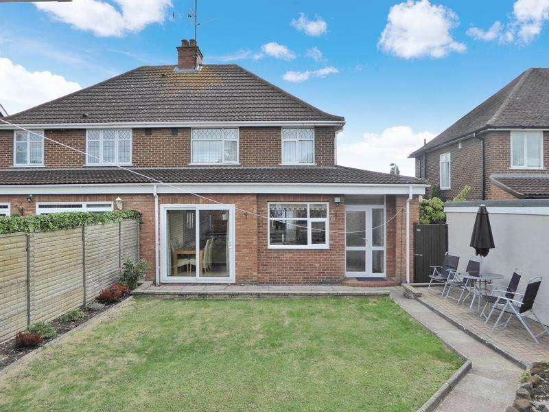 3 Bedrooms Semi Detached House for sale in Frenchs Avenue, North Dunstable